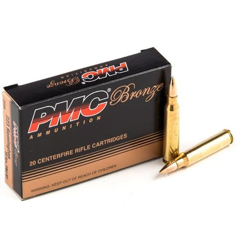 PMC  .223 55 gr FMJ 20 rounds TSE#19660 The Shooting Edge Calgary Alberta