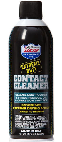 Lucas Oil Extreme Duty Contact Cleaner.  TSE # 19962.
