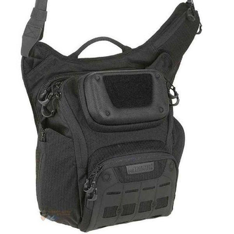Maxpedition Wolfspur Crossbody Shoulder Bag - Black TSE#20660