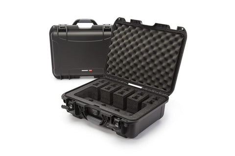 Nanuk 925-4Up Pistol Case Black