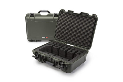 Nanuk 925-4Up Pistol Case.  Olive.
