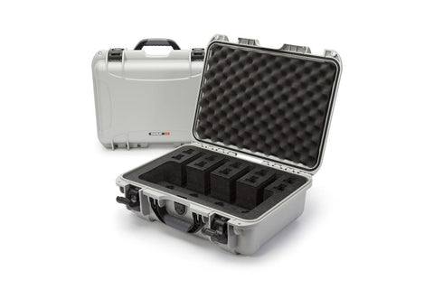 Nanuk 925-4Up Pistol Case. Silver.