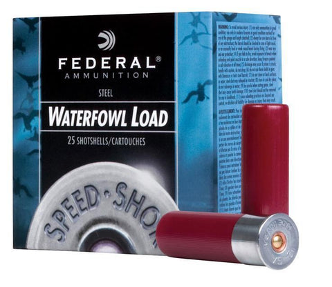 "Fed 12ga Steel 2-3/4"" Shot # 4 25/Box TSE#21423"