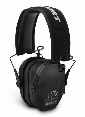 Walker's Razor Slim Shooter, Electronic Ear Muffs.  Black.  TSE # 21479