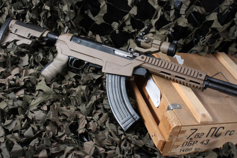 Matador Sabertooth Mk II SKS Chassis.  Flat Dark Earth.  TSE # 21725.