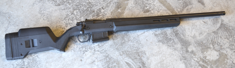 Remington 700, Magpul Hunter Stock, Black.  TSE # 22332.