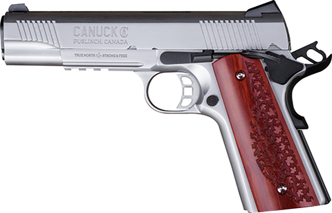 Canuck 1911 .45ACP Stainless.  TSE # 22379.