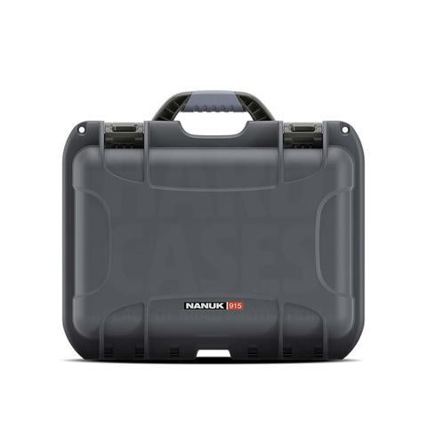 Nanuk 915 Hard Case, Pick & Pluck Foam, Graphite.  TSE # 23079.
