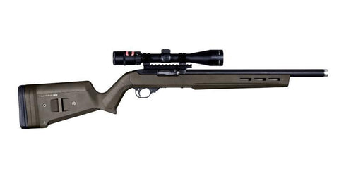 Magpul Hunter X-22 Ruger 10/22 Stock, OD Green.  TSE # 23119.