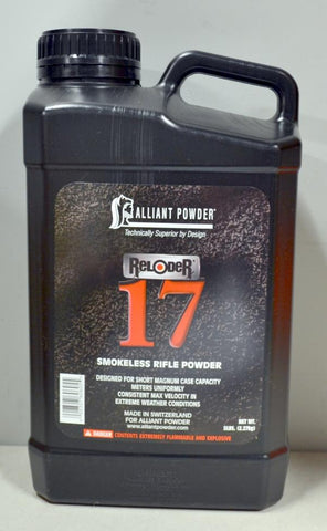 Alliant Powder - Reloder 17 Smokeless Powder, 5lbs.  TSE # 23129.