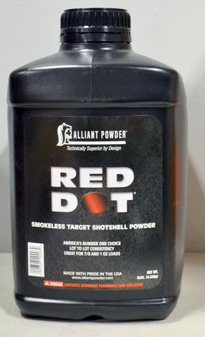 Alliant Powder - Red Dot Smokeless Powder, 8lbs.  TSE # 23132.