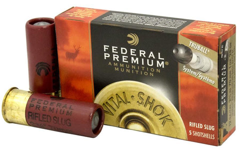 "Federal Ammunition 12GA 3"" 1 oz Truball Rifled Slug HP 5 Rounds TSE#24203 The Shooting Edge Calgary Alberta"