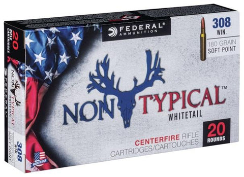 Federal Ammunition 308 Win 180gr SP 20/Box Non-Typical  Whitetail TSE#24489 The Shooting Edge Calgary Alberta