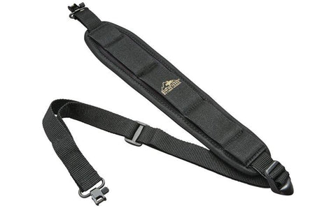 BUT Rifle Sling black Comfort Stretch with Swivel TSE#81013CN The Shooting Edge Calgary Alberta