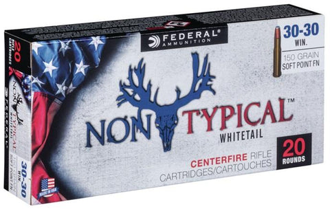 Federal Ammunition 30-30 Win 150gr SP-FN 20/Box Non-Typical  TSE#24716 The Shooting Edge Calgary Alberta
