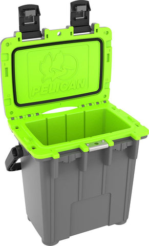 Pelican 20QT Elite Cooler Dark Gray and Green The Shooting Edge Calgary Alberta
