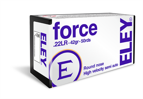 Eley Force 42gr Ammunition 50 rounds TSE#25234