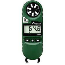 0820 Kestrel 2000 Wind Meter - Green