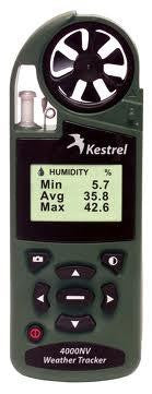 0840GRY Kestrel Wind Meter 4000 - Green