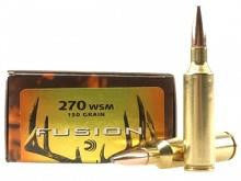 Federal Fusion .270WSM 150gr. SP - 20/Box TSE#3106