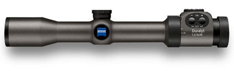 Zeiss Conquest Duralyt 1.2-5x36 Riflescope, Illuminated TSE#7059 The Shooting Edge Calgary Alberta