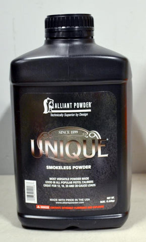 Alliant Powder - Unique Smokeless Powder, 8lbs.  TSE # 7908.