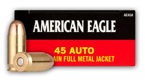 American Eagle 45 Auto 230gr 50 Rounds