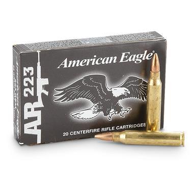 Federal Ammunition AE .223 55gr FMJ Boat Tail 20 rounds TSE#8528 The Shooting Edge Calgary Alberta
