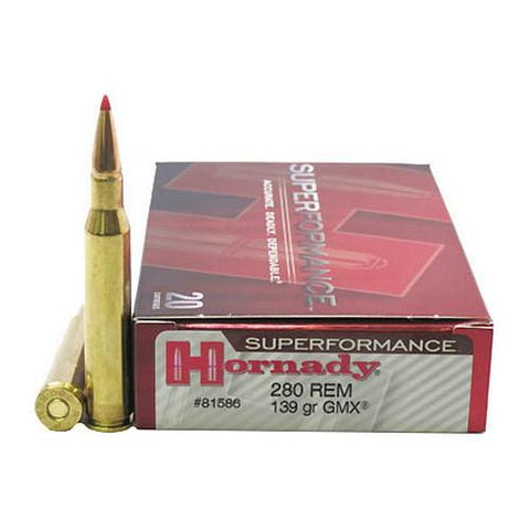 Hornady 280 Rem 139gr GMX Superformance TSE#9913