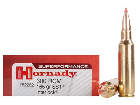Hornady 300 RCM 165gr SST Superperformance 20Rnds
