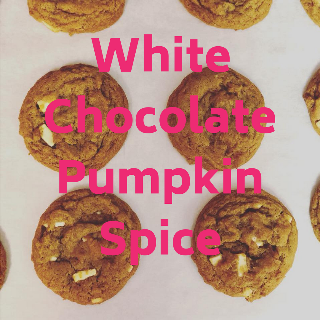 White Chocolate Pumpkin Spice!