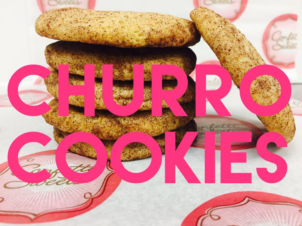 CHURRO COOKIES ARE BACK!