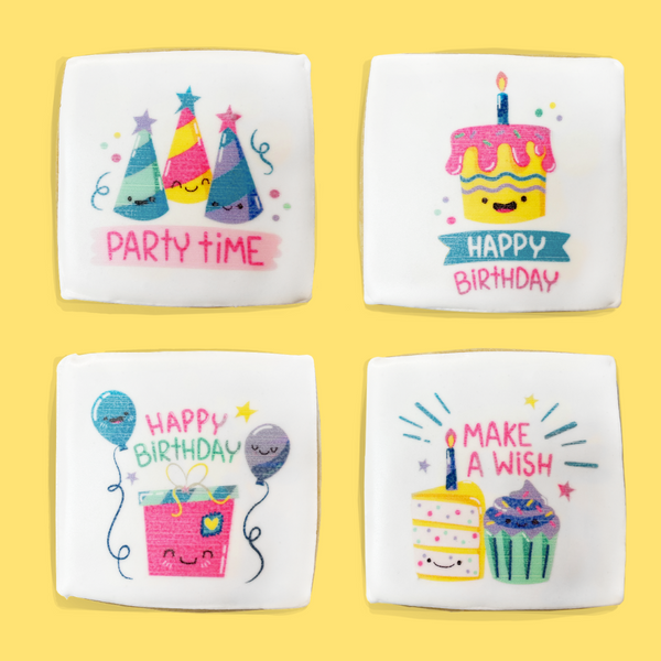 Birthday Printed Cookies
