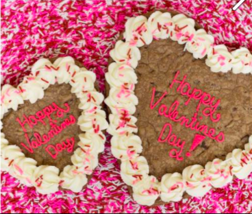 Valentine's Cookie Cake - Large