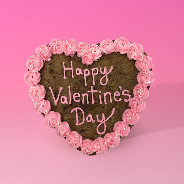 Valentine's Cookie Cake - Small