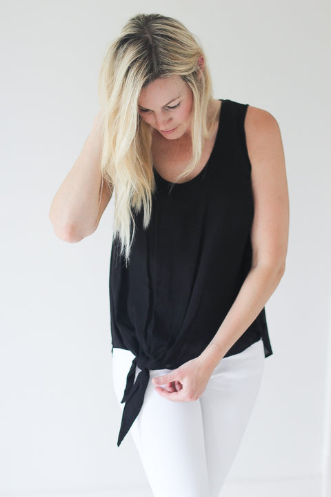 Adrian Knot Top