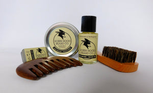 Old Smoke Deluxe Beard Grooming Kit - Robin Hood Beard Company