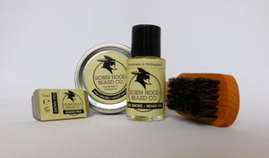 Old Smoke Standard Beard Grooming Kit - Robin Hood Beard Company