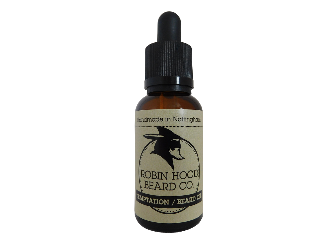 Temptation Beard Oil - Robin Hood Beard Company