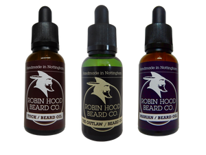 Legends Beard Oil Collection - Robin Hood Beard Company