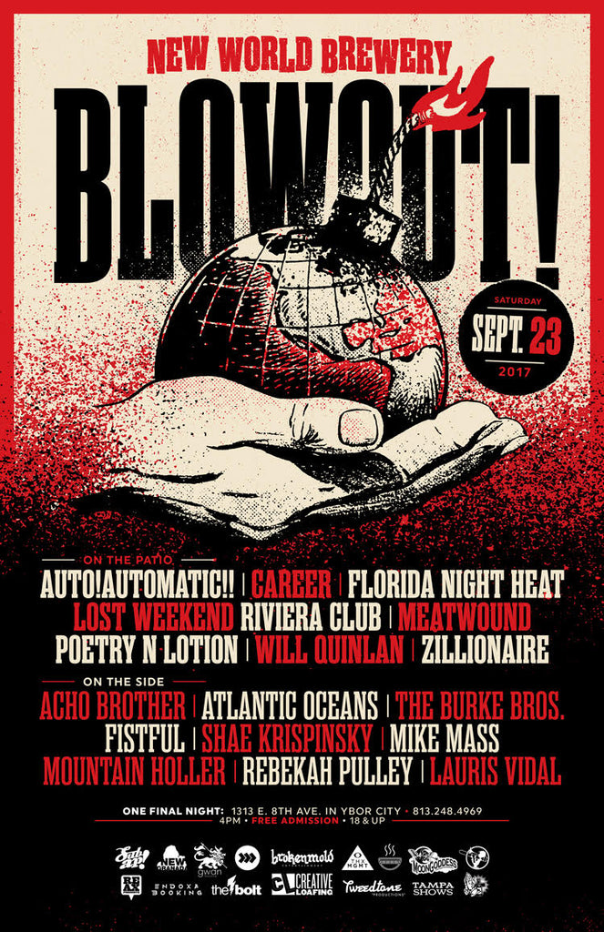 NWB Blowout Poster