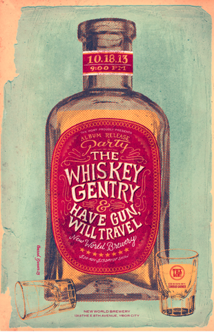 The Whiskey Gentry x Have Gun, Will Travel by Conrad Garner