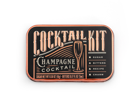 Champagne Cocktail To Go Kit