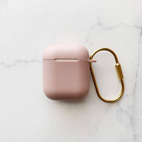 Matte Rose Pink Airpod Case