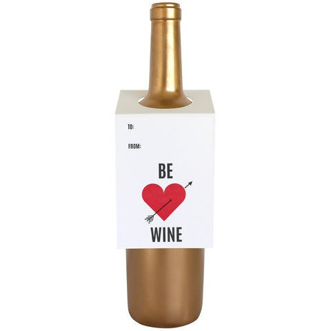 Be Wine Bottle Tags
