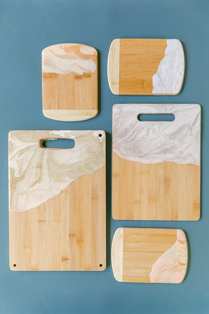 Marble Hand Painted Cutting/Serving Boards