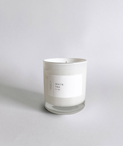 White Tea Candle Tumbler