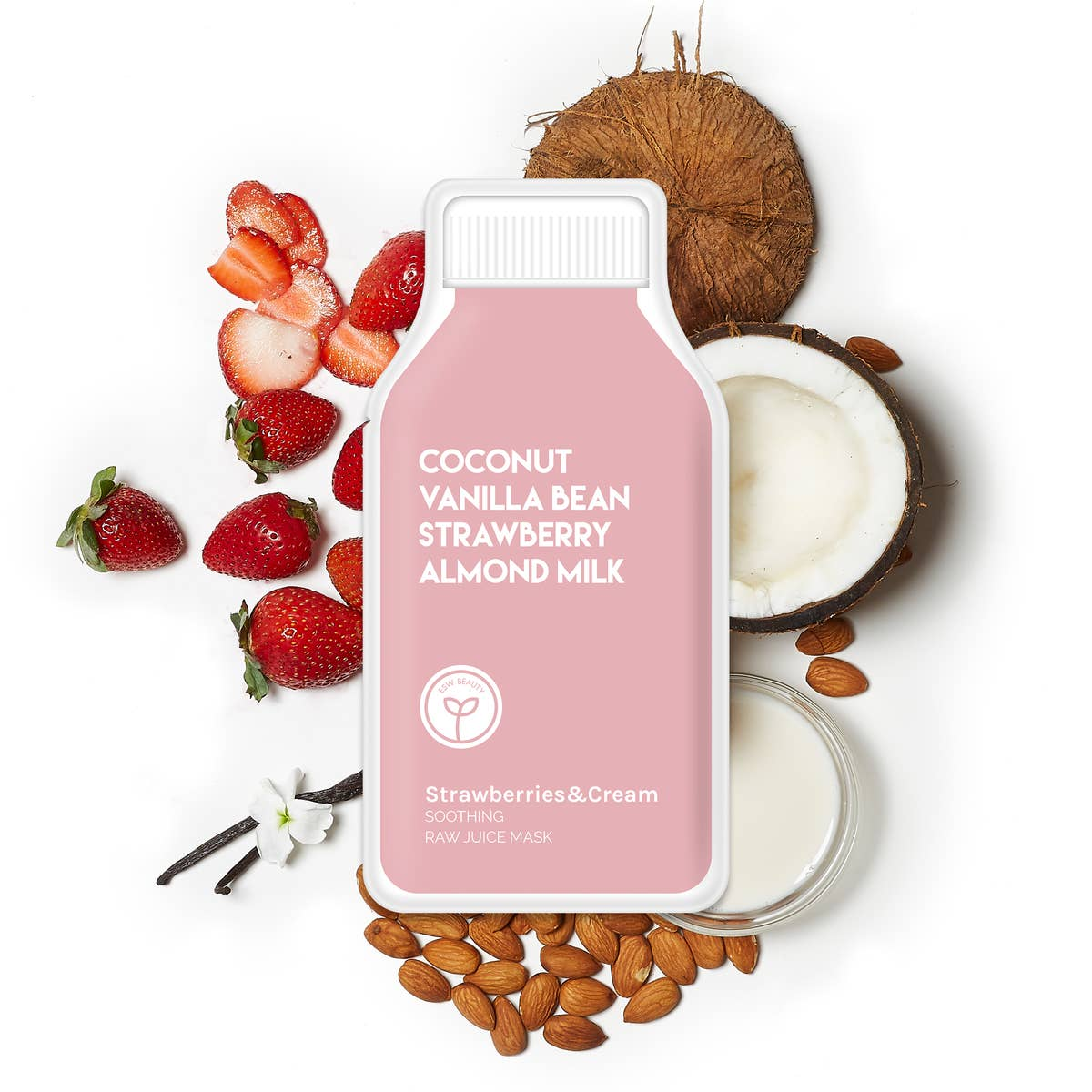 Strawberries & Cream Soothing Raw Juice Sheet Mask