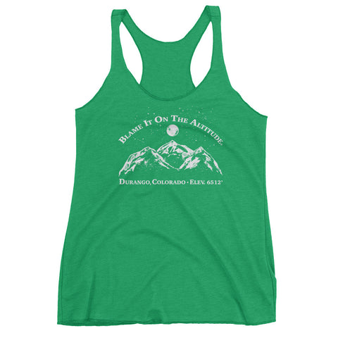 DURANGO, CO 6512' Ladies' Stylish BIOTA Racerback T