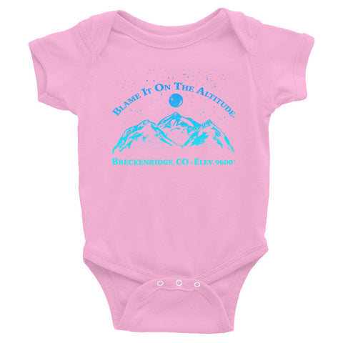 BRECKENRIDGE, CO 9600' Soooo Cute BIOTA Onesie